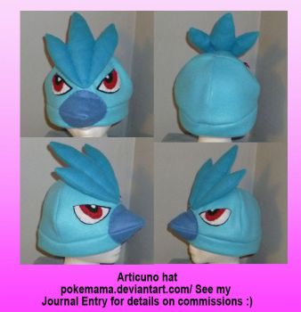 Articuno hat by PokeMama