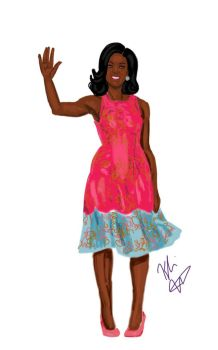 Goodbye to the Obamas: Michelle, 'America's Mom' by blackpride-brownlove