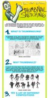Thumbnailing for better composition - A Tutorial! by javicandraw