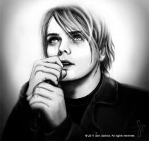 Gerard Way portrait by SariSariola