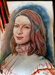Caitriona Balfe (Outlander) by nmarquez72