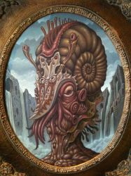 Deep One, Spawn of Cthulhu by tat2pooch