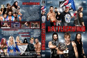 WWE Battleground 2016 DVD Cover by Chirantha