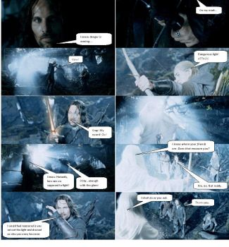 Lord of the Rings Comic 22 by ashantiwolfrider