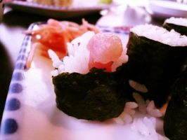 LOL YOU CALL THAT SUSHI?? by depairfactor