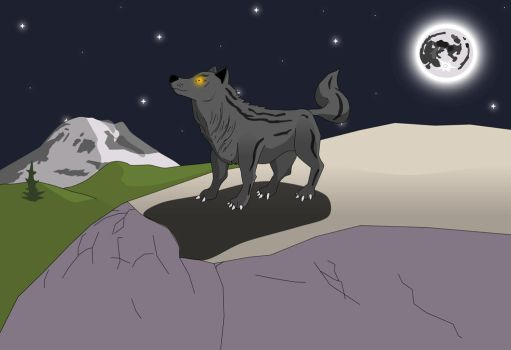 Wolf by Rainier by TheSaure55