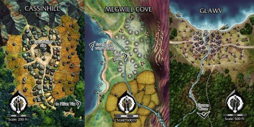 Numenera 2 - Towns by butterfrog