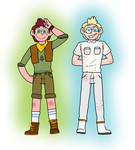Camp Man and Cult Man by checkerboardtom