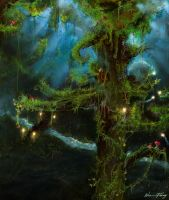Home - The forest of fairytale by bm