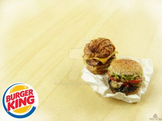 Burger King Inspired Miniatures by Tristatin