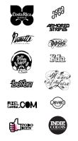 Logotypes by jonrod