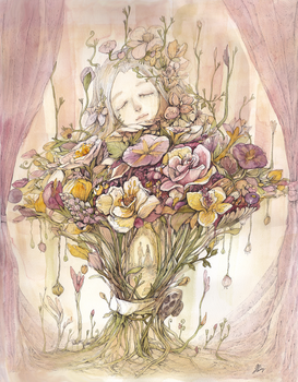 [ The language of flowers ' eternity' ] by doming92