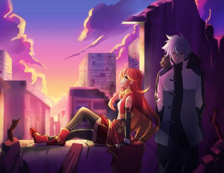Sunset by Aecclesia