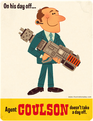 Agent Coulson's Day Off by MattKaufenberg
