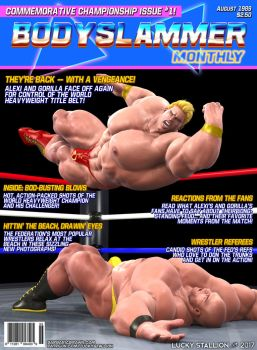 Bodyslammer Monthly (Promo #1) by lucky-stallion