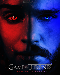 Game of Thrones - A Song of Ice and Fire Poster by LaiWinchester