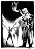 Hellblazer sketch by ChristianDiBari