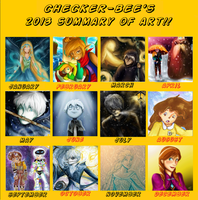 2013 Summary Of Art by Checker-Bee