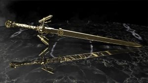Steampunk Master Sword002 by paraclete08