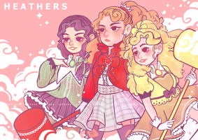 Heathers: Magical Girls by Cafhune
