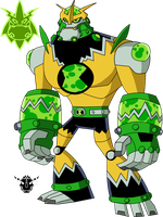 Biomnitrix Unleashed - Shocktomix by rizegreymon22