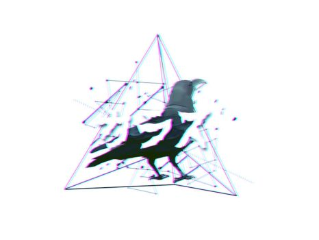 3D Crow by azy0