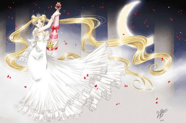 Sailor Moon Princess Serenity by Chibi-YuYa