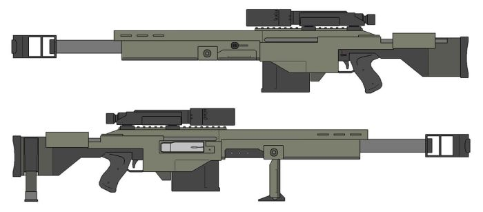 C-109 Payload Rifle by The-SKA-King