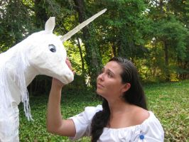 Molly Grue and the Unicorn by RedCrosseKnight