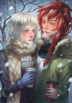 Winter Walk by Kaorien