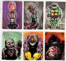 SKETCH CARDS for sale! by FWACATA