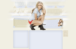 Bridgit Mendler Free Layout by lenkamason