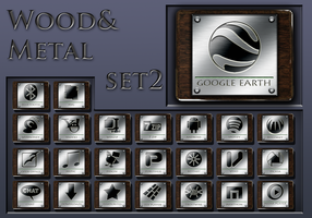 wood and metal  set 2 by xylomon