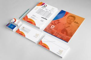 Corporate Stationery Template by Cristalpioneer