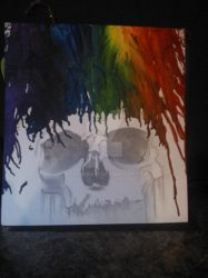 melted crayon art by Boojaybabe