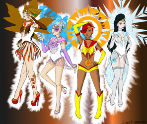 My Sailor Seasons Coloring Contest Entry! by DigidestinedAzukia