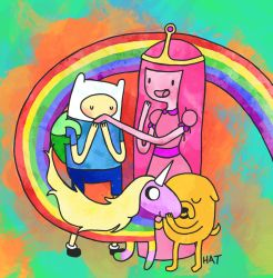 AAAADVENTURE TIME by sprinklexeater