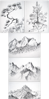 Fallen in love with Mountains by Caremey