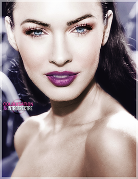 megan fox colorization by 1TYMillenium