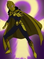 Zatanna is Doctor Fate by Glee-chan