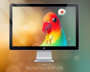 Parrot Rapper By Phob and Macomix by petque