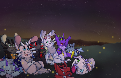 Watching The Stars by d00dlen00dle