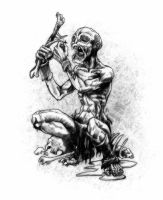 Ghoul, beggar by butterfrog