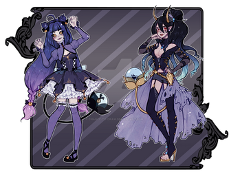 [auction] October Fysaera Adopts 2 [closed] by Chance-To-Draw