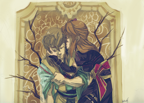 [geten no hana] Ieyasu and the Assassin by Kathisofy