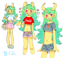 Design For Sale: Sunshiny Oni (SOLD) by Costly
