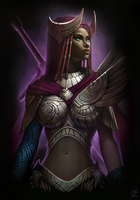 Guild Wars 2 Commission - Aurora Abboud by jylgeartooth
