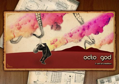 Octo God : act of creation by Caddielook