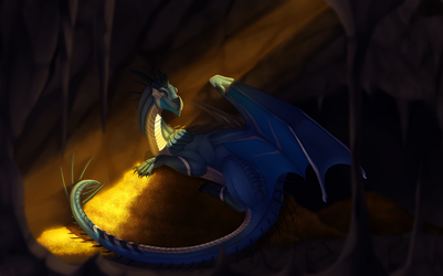 Commission - Stash of Gold by FireDragon97