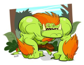 Blanka's walk on the park by Monkey-Cosio